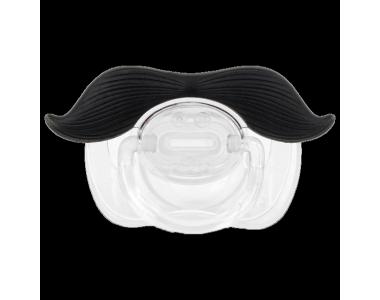 Tétine-moustache