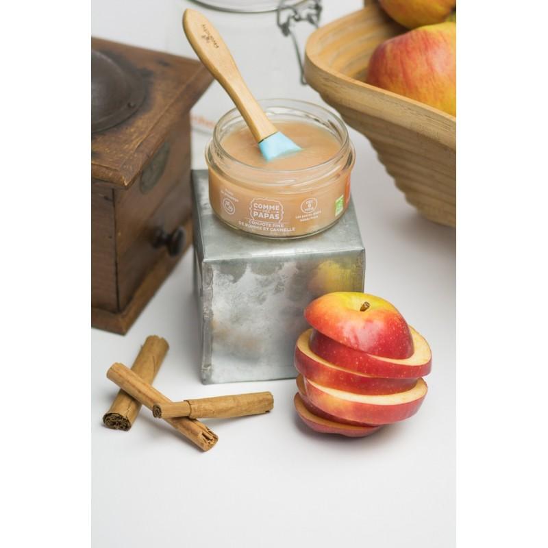 compote fine de pomme et cannelle comme des papas. Black Bedroom Furniture Sets. Home Design Ideas