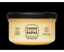 Crème de panais aux poireaux
