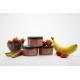 Petit pot bébé bio 6 mois Compote fine de fraise et rhubarbe