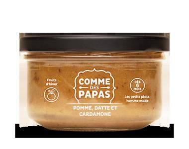 Compote de Pomme, Datte et Cardamone