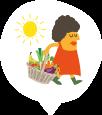 Des fruits et légumes de saison
